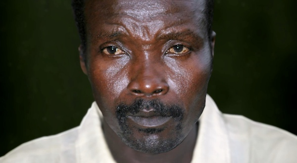 Joseph Kony of the Lord's Resistance Army (LRA).